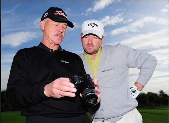 Pete Cowen and Graeme McDowell