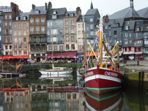 The scenic port of Honfleur