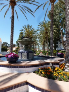 La Costa's lovely gardens and fountains