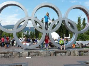 Whistler's Olympic Rings