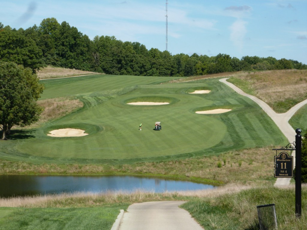 The classic Donald Ross Course makes the most of the natural  rolling terrain