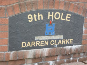 Darren Clarke designed the 9th at Dungannon