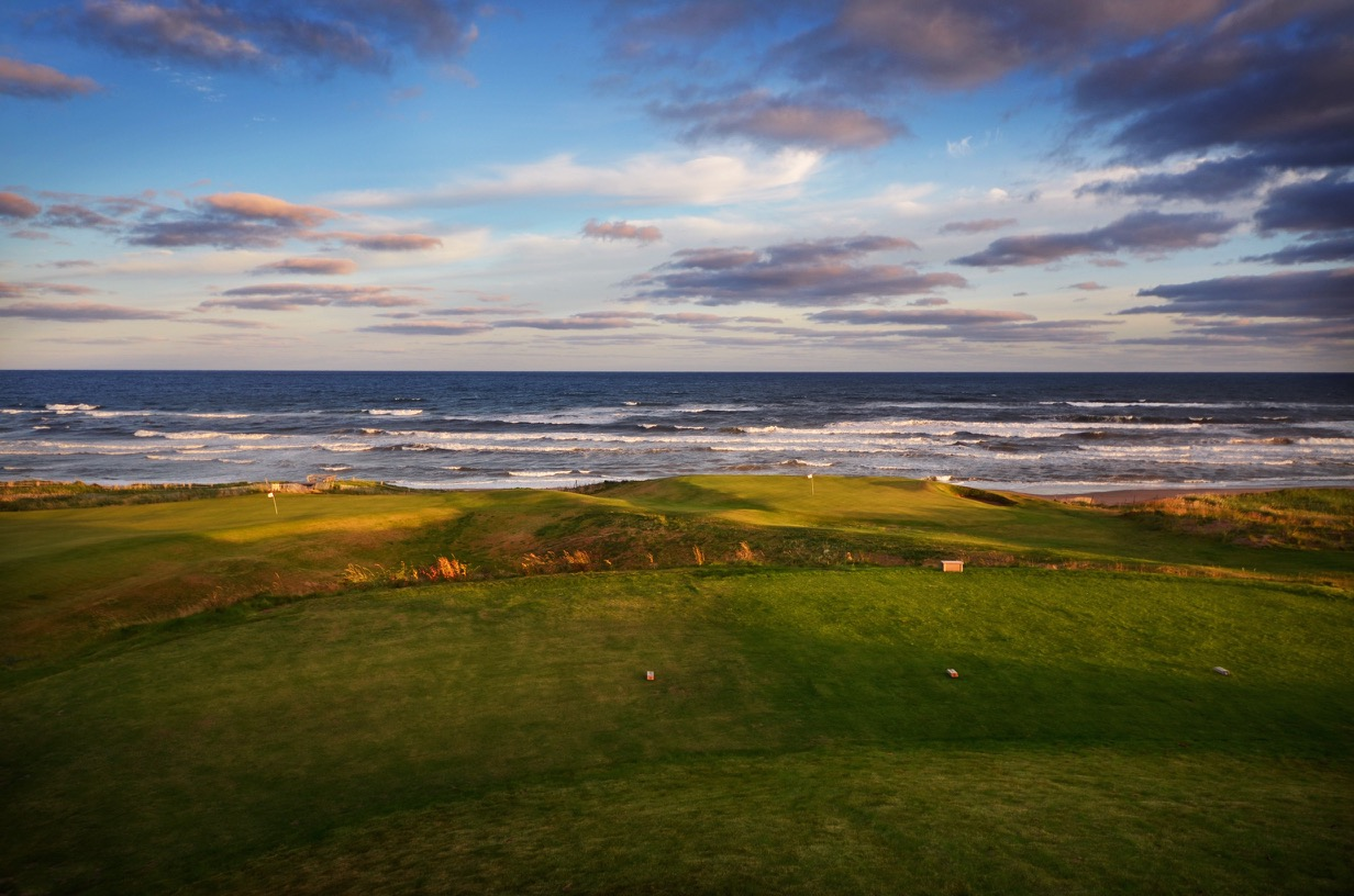 Cabot cliffs better than pebble beach on steroids for Cabot