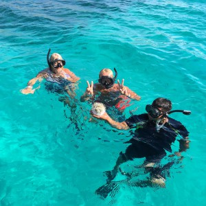 """Snorkelling in Jacques Costeau's """"aquarium of the world"""""""
