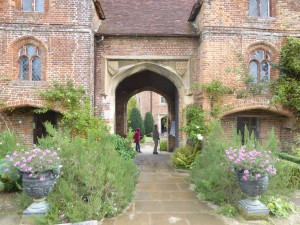 The famous Sissinghurst Gardens