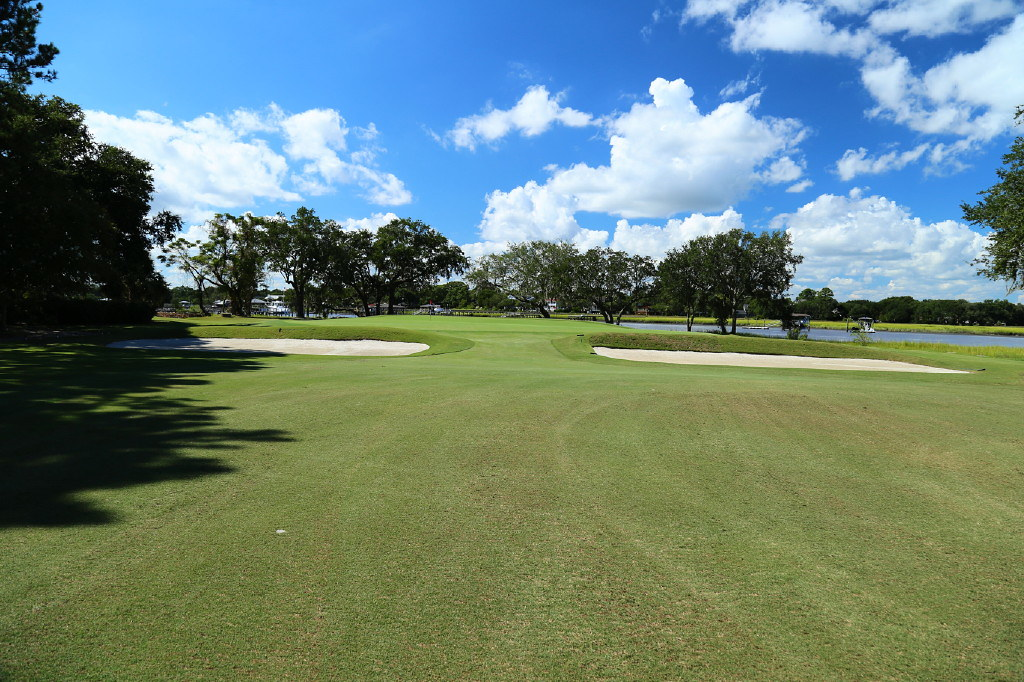 The third hole at Country Club of Charleston, Eden.