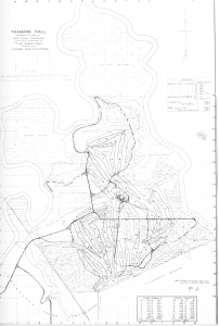 The 36-hole plan Donald Ross produced for the Yeamans Hall Club. (Courtesy Yeamans Hall Club)
