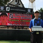 Austin Connelly won the 2014 AJGA Footjoy Invitational at Sedgefield Country Club, earning a spot in the PGA Tour's Wyndham Championship.