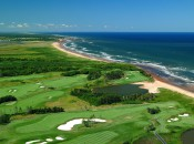 Crowbush Cove's back nine flanks the sea