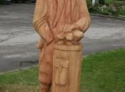 Hazel Grove's statue of Alister Mackenzie