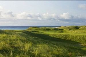 The links at Askernish was literally lost for generations, until writer John Garrity arrived on the scene.
