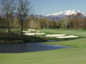 The Del Conte Course at Bogogno offers many views of the nearby Monte Rosa massif.