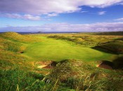 The 13th on the Glashedy Links at Ballyliffin is an epic journey of 572 yards through the dunes of northernmost Ireland.