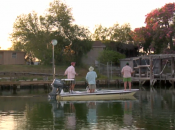 Casting for baby tarpon near Laguna Madre, as captured on The K.T. Diaries.