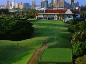 Many will be tempted to drive the short par 4 18th at Durban...and many will find disappointment in the bush.