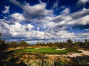 The par-3 14th at Pronghorn, just outside of Bend, Oregon.