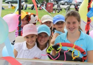 Some of Val Halla's many junior golfers