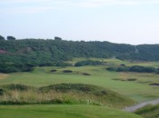 Mind the bunkers off the 5th tee at Royal Dornoch