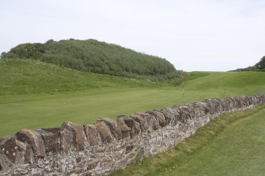 The 13th green at North Berwick