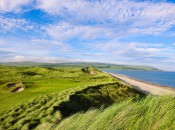 The 14th hole at Machrihanish Dunes