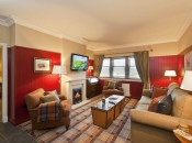 Pleanty of space to relaxe after your round at The Ugadale Cottages.