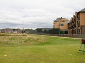 The crazy tee shot at the 17th already calls for hitting over a building and skirting a hotel, so what's wrong with hitting from out of bounds, too?