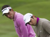 Edoardo Molinari (left) was a captain selection to join his brother, Francesco, on the European Ryder Cup team. Copyright USGA/Steve Gibbons.