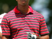 Tiger Woods went four weeks without hitting balls after the Masters. Copyright Icon SMI.