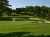 It's been a three-year process to get Congressional (18th hole shown) ready for the U.S. Open. Photo Russell Kirk.