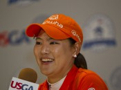 So Yeon Ryu made an impression at the U.S. Women's Open with her play and her smile.