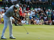 The long putter has been vital to a reversal of fortunes for Adam Scott. Photo copyright Icon SMI.