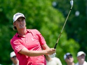 Webb Simpson failed in his bid to become the Tour's first three-time winner this year, but has his eyes on the money title. Photo copyright Icon SMI.