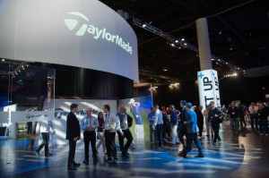 As for the past several years TaylorMade-adidas Golf had by far the largest exhibit taking up the entire end of the Orange County Convention Center so they could include all their brands: TaylorMade, adidas, Ashworth, Adams Golf, Yes Putters.