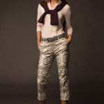 Lizzie Driver - Silver-Beaked Tanager Long Sleeve Shirt_ Bird-Of-Paradise Cropped Pants_385x575