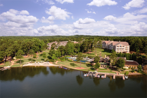 On the shore of Lake Oconee the Ritz-Carlton offers first class service and accommodations.
