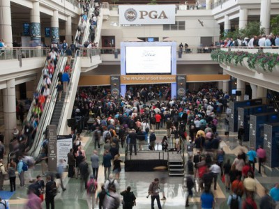 ORLANDO, FL - JANUARY 25: The Opening Ceremony during the 2017 PGA Merchandise Show held at Orange County Convention Center on January 25, 2017 in Orlando, Florida. (Photo by Traci Edwards/PGA of America)