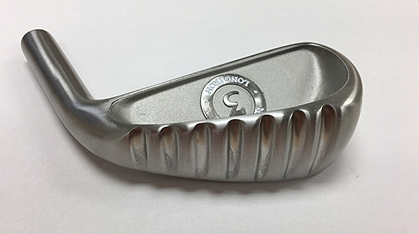The New Ground long iron has seven deep sole grooves