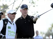 Bill Clinton plays with Greg Norman in Saturday's third round of the Humana Challenge (Photo: PGATour.com)