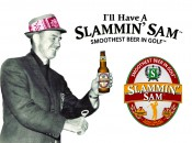 "Slammin' Sam, the ""smoothest beer in golf,"" debuts at Greenbrier Classic"