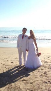 Natalie Gulbis weds Josh Rodarmel (Photo: Twitter via @natalie_gulbis)