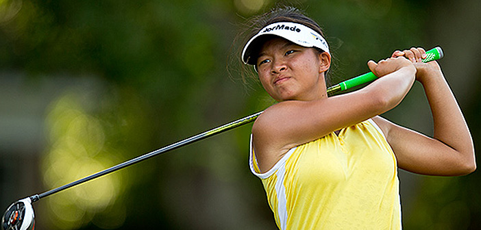 Megan Khang in the 2013 U.S. Women's Amateur (USGA/Chris Keane)