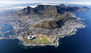 Cape Town birdview