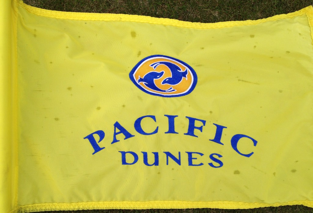 Pacific Dunes pinflag