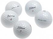 Titleist's Pro V1 and Pro V1x golf balls