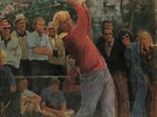 Jack Nicklaus as depicted by Walt Spitzmiller