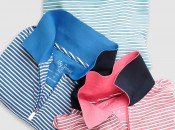 By-Ply stripe polo shirts from the Spring 2014 Bobby Jones line