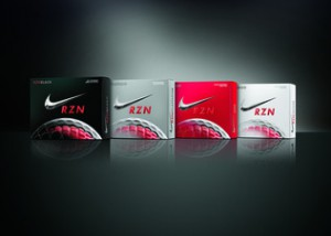 Nike Golf's has four new models of its RZN golf ball line