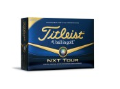 The new Titleist NXT Tour golf ball