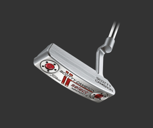 The popular Scotty Cameron-designed Select Newport 2 putter