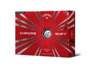 Callaway says Chrome Soft feature low compression with Tour Urethane cover
